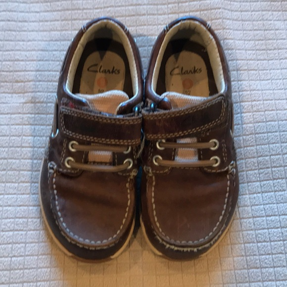 31d1e60c1ad Clark's Boys Leather Shoes